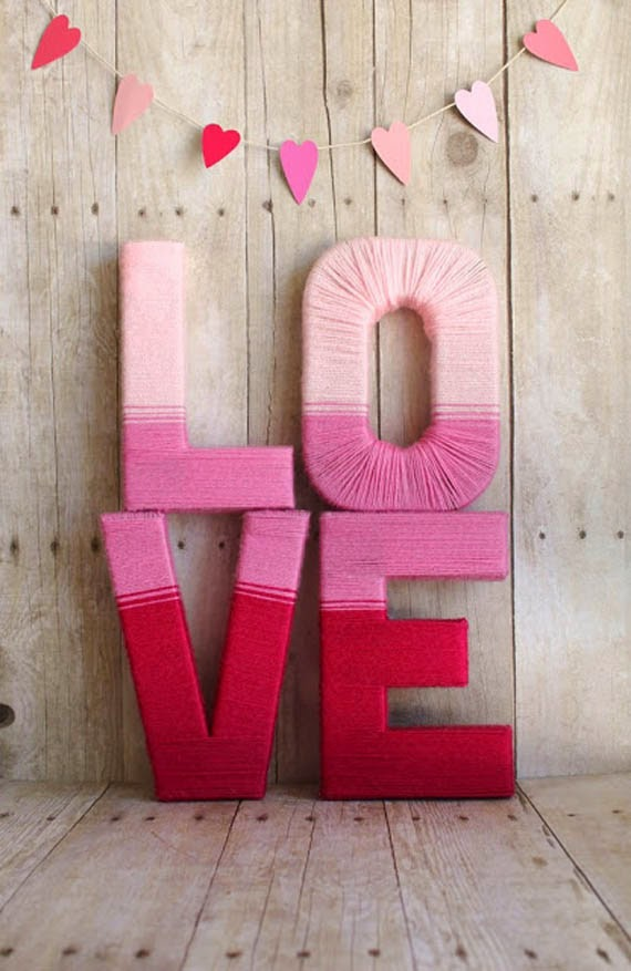 Valentine 39 s day home decor ideas loft in soho for Valentine decorations to make at home
