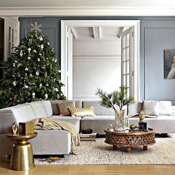Modern christmas decoration for your interior decorate interior home - Home decoratie moderne leven ...