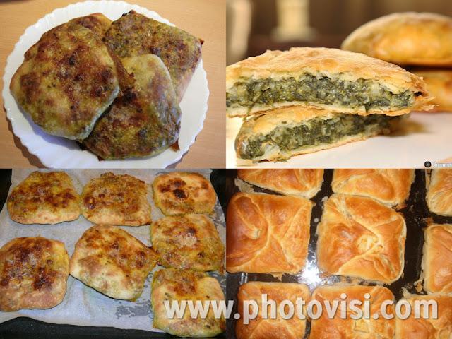 رغايف مورقة في الفرن بالسبانخ والجبن