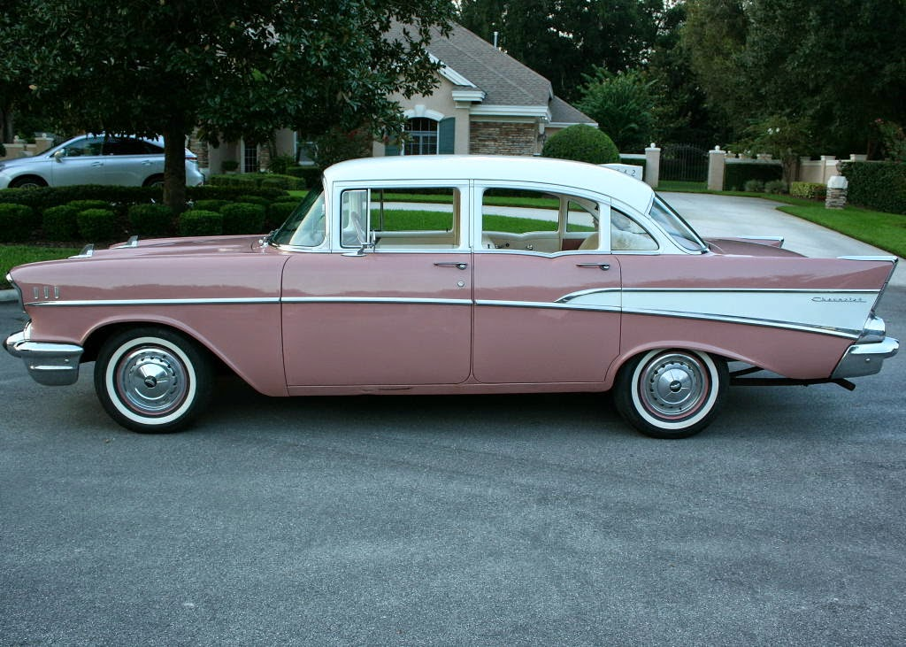 All american classic cars 1957 chevrolet two ten 4 door sedan for 1957 chevy 4 door sedan