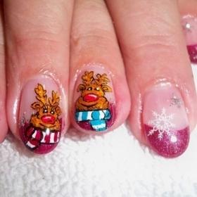 Christmas Nail Art Ideas -22