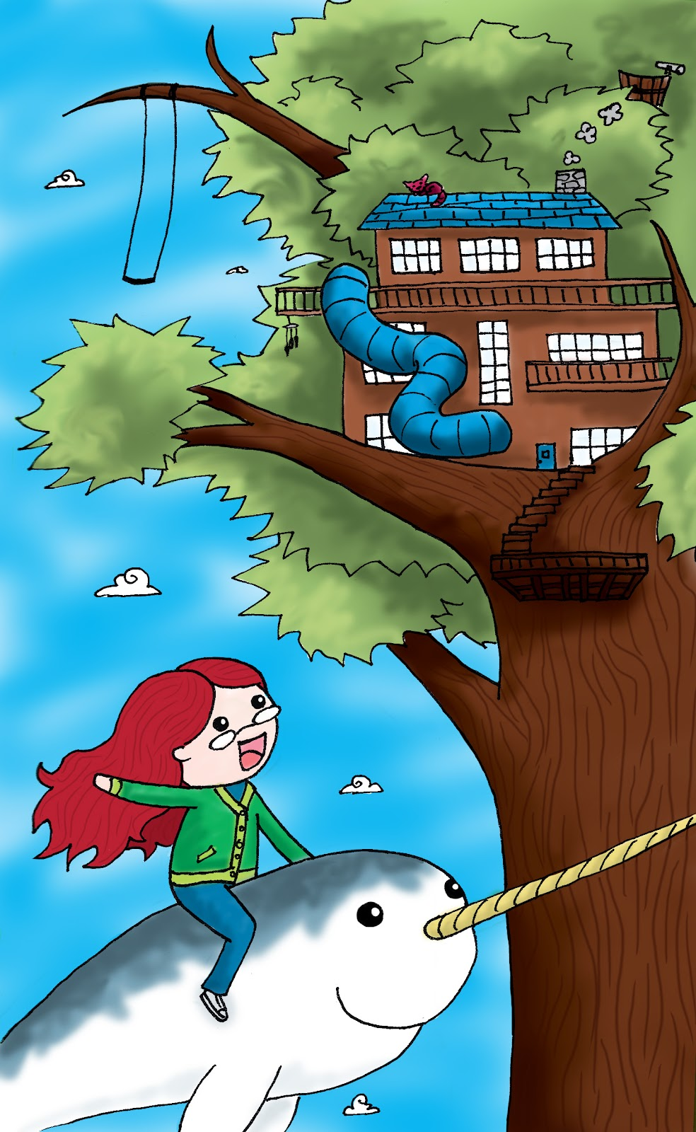 Dream Tree House Drawing