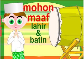 Mohon Maaf Lahir Batin 2013