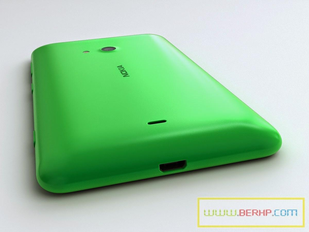 Galeri Gambar dan Pilihan Warna NOKIA Lumia 625