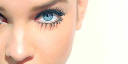 Maquillaje de ojos Twiggy