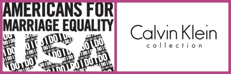 Calvin Klein Collection y Human Rights Campaign