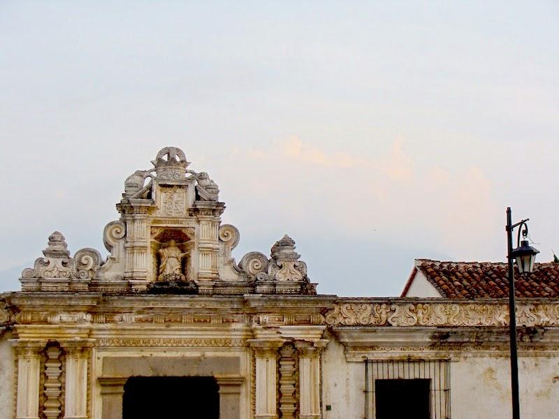 Fachada en Antigua, Guatemala