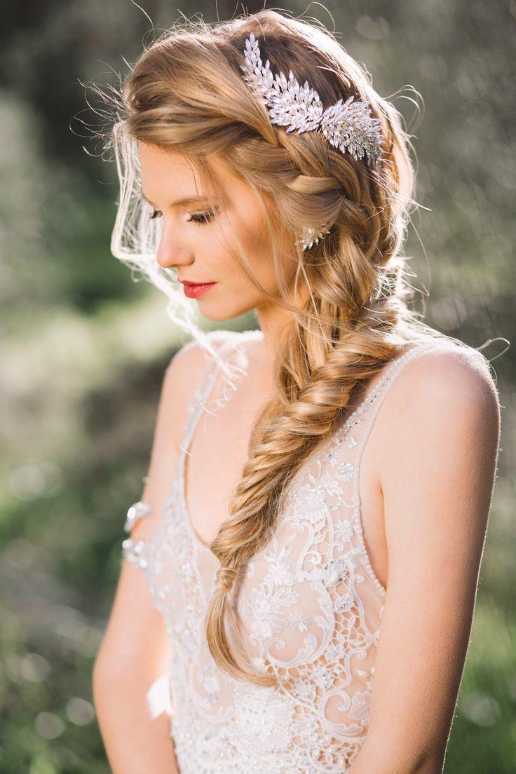 10 peinados con trenzas para novias SoyActitud Actitudfem  - Peinados Trenzados De Novia