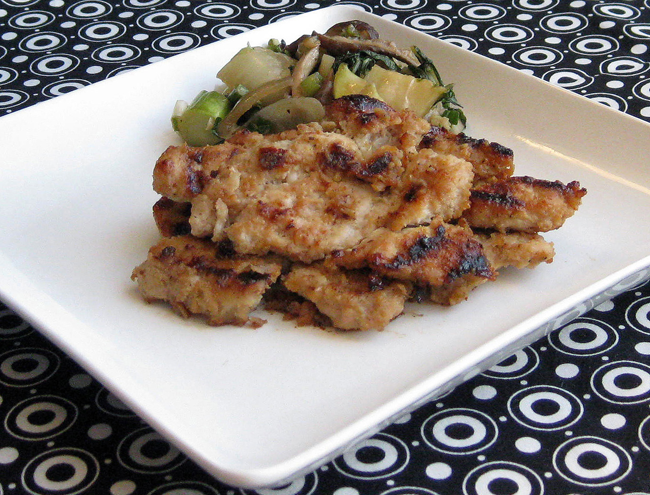 Recipe #298: Miso-Glazed Chicken with Baby Bok Choy & Chinese Broccoli ...