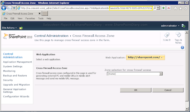 sharepoint 2010 get web application guid