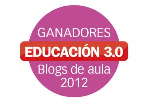 GANADORES MEJOR BLOG DE AULA 2012