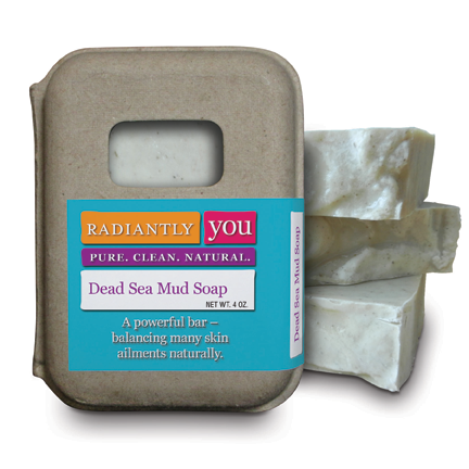 Dead Sea Mud Soap by Radiantly You