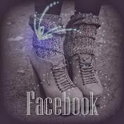 Følg damen på Facebook