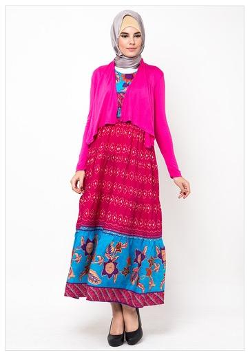 Koleksi Busana Muslim Gamis Batik Terbaru Fashion Style
