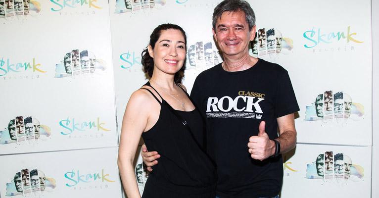 Serginho Groisman e Fernanda Molina