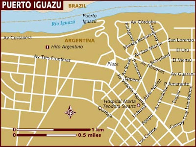 Puerto Iguaz Mapa Imagen