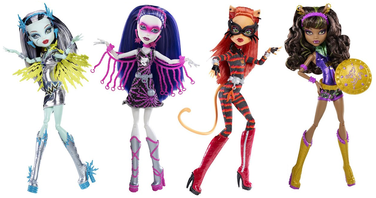 Nueva Colecci  N Monster High Power Ghouls