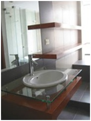 SINK IN A MODERN BATHROOM DESIGN AND DECORATING IDEAS