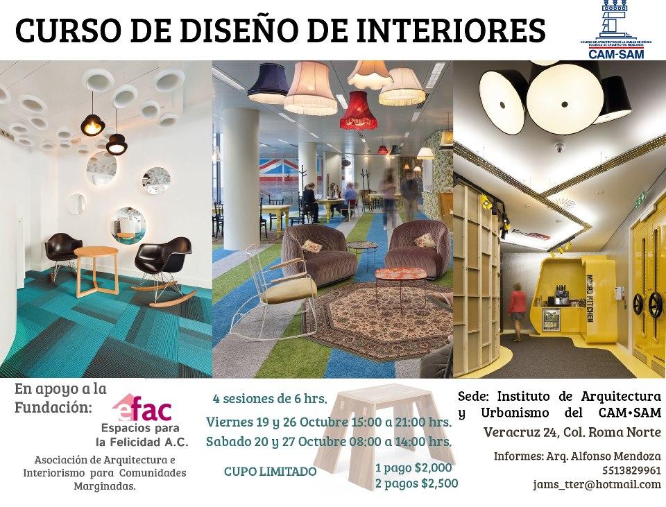 Curso de dise o de interiores revista esencia y espacio for Diseno de interiores curso
