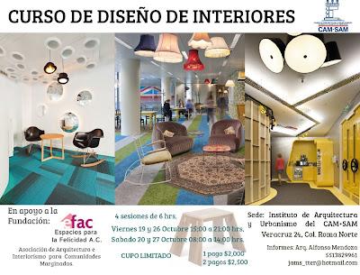 Curso diseno de interiores dise os arquitect nicos for Revistas de diseno de interiores