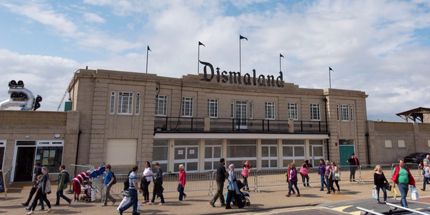 UK's Banksy's dismal day out: Artist unveils Dismaland