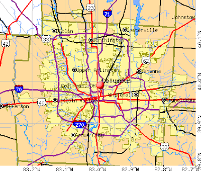 Map Of Columbus Oh Submited Images