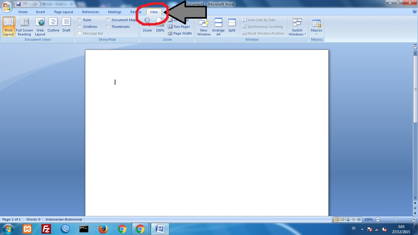 how to add ruler on microsoft word