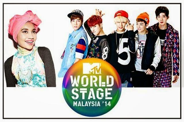 Yuna & Boys Republic Sahkan Kemunculan Pada MTV World Stage 2014