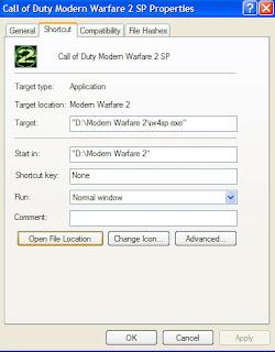 ลง Crack Call of Duty Modern Warfare 2