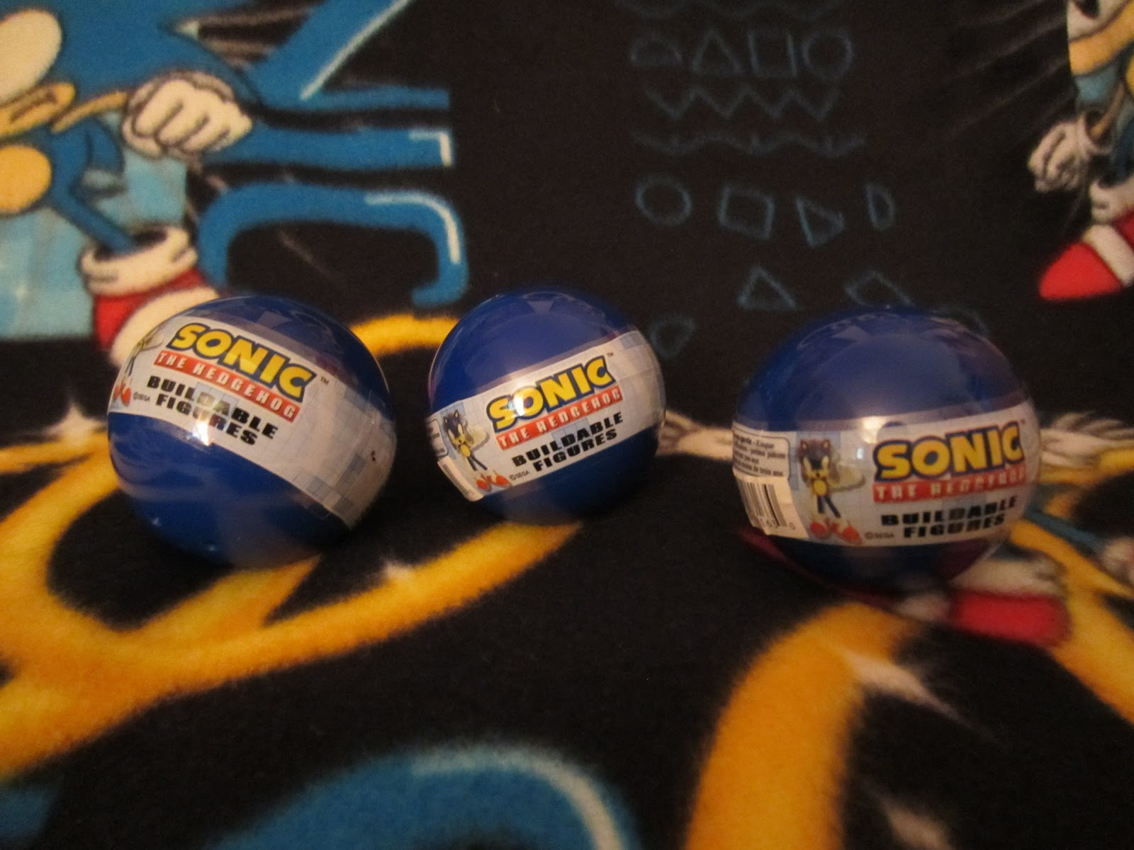 Target Sonic Toys : Sega memories sonic tomy gacha capsules russian roulette