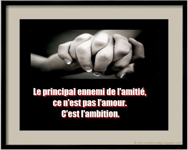 Citation amour amitié en image