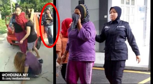 NIJA, Perakam Video Kes Belasah Gadis Kelantan Akhirnya Direman