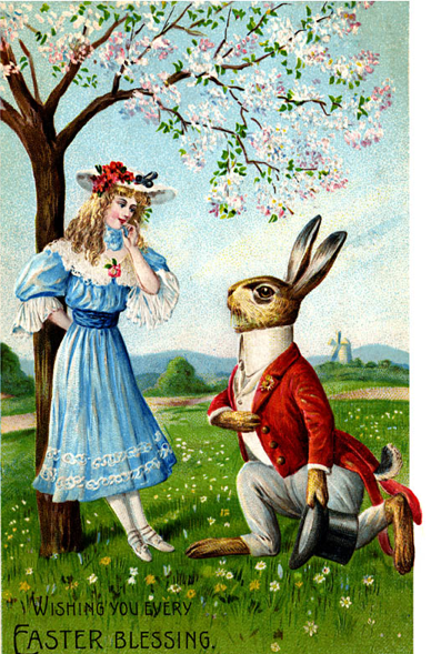 ♥ ♣ Alice & White Rabbit In Spring ♣ ♥