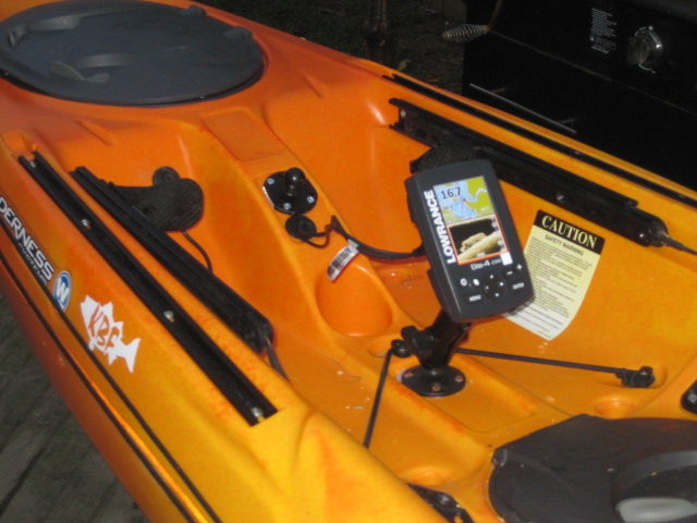 nomad's kayak fishing odysseys: my lowrance elite-4 dsi fish, Fish Finder