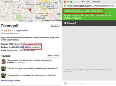 Google Uji Fitur Live Chat Untuk Bisnis