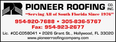 Pioneer Roofing