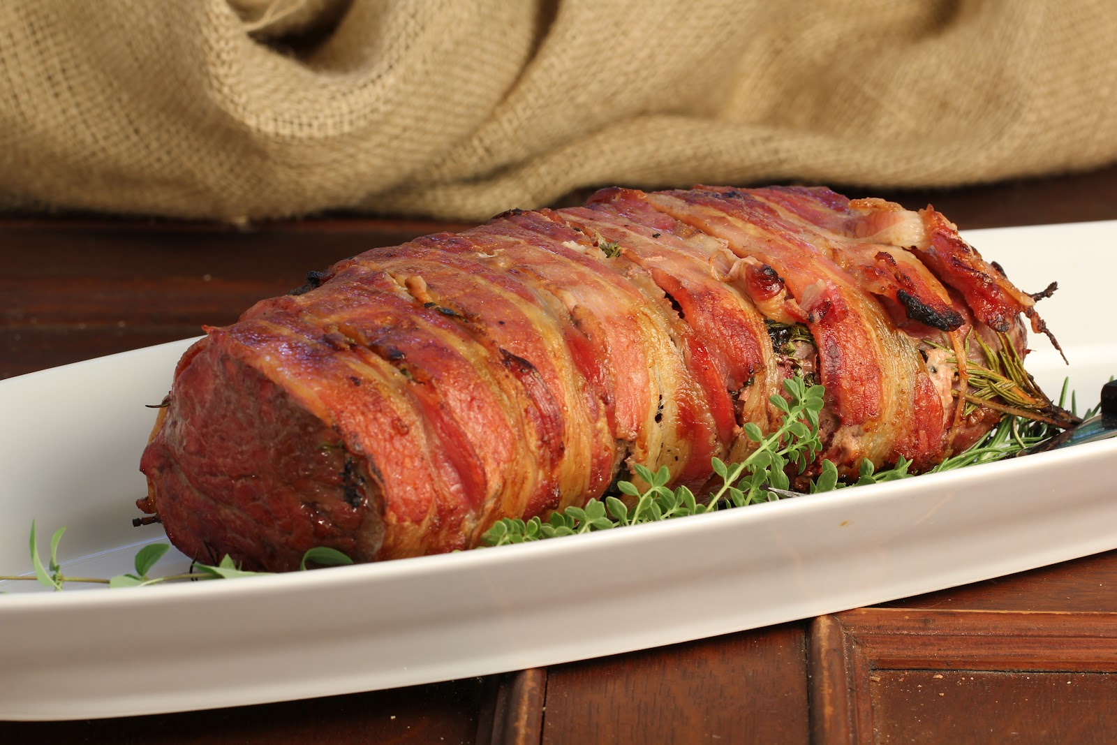 how to cook bacon wrapped beef tenderloin