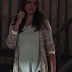 "Hayley's American Rag Long-Sleeve Marled-Knit Cardigan The Originals Season 1, Episode 15 ""Le Grand Guignol"""