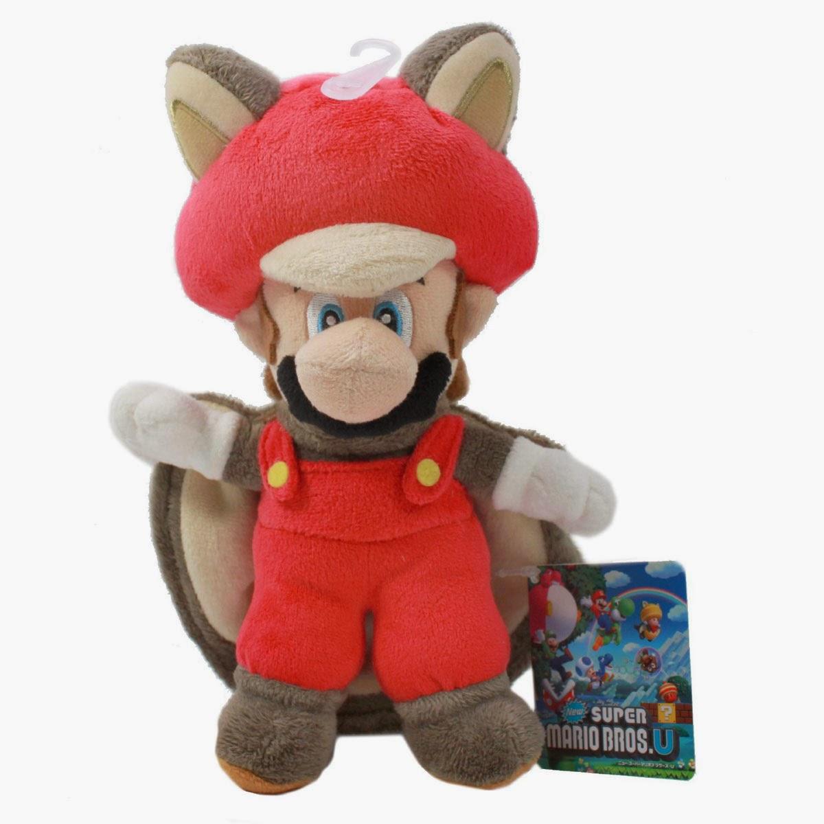 Peluche Mario Bros Squirrel Ardilla Voladora