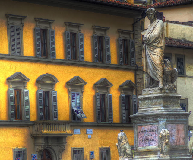 Dante Alighieri Piazza di Santa Croce in Florence