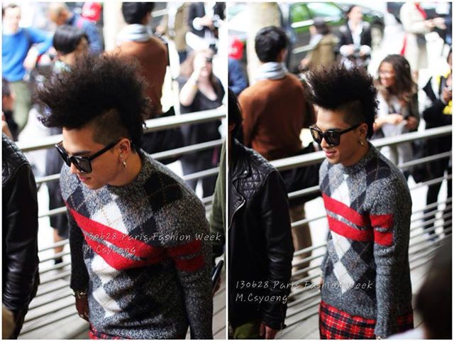taeyang paris mens fashion week givenchy
