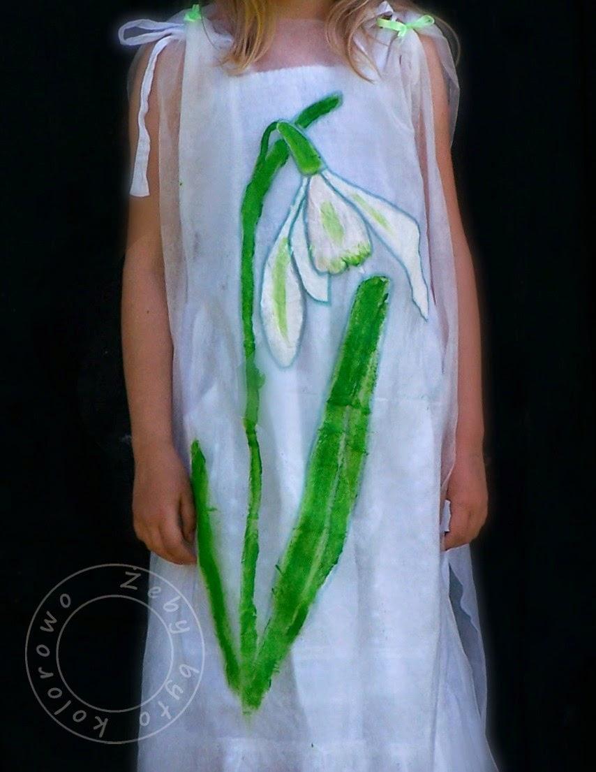kostium kwiatka
