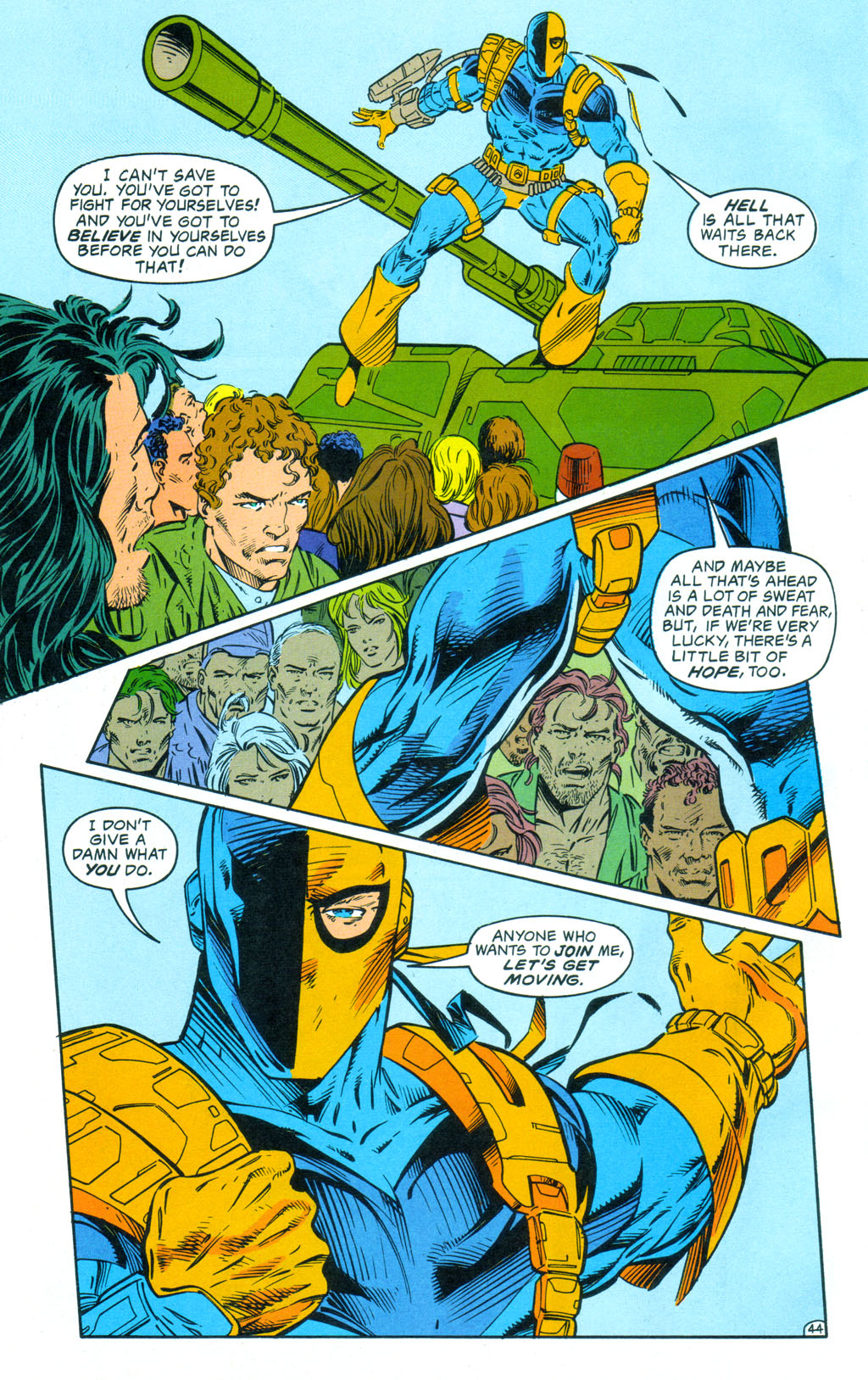 Deathstroke (1991) Annual 3 #3 - English 45