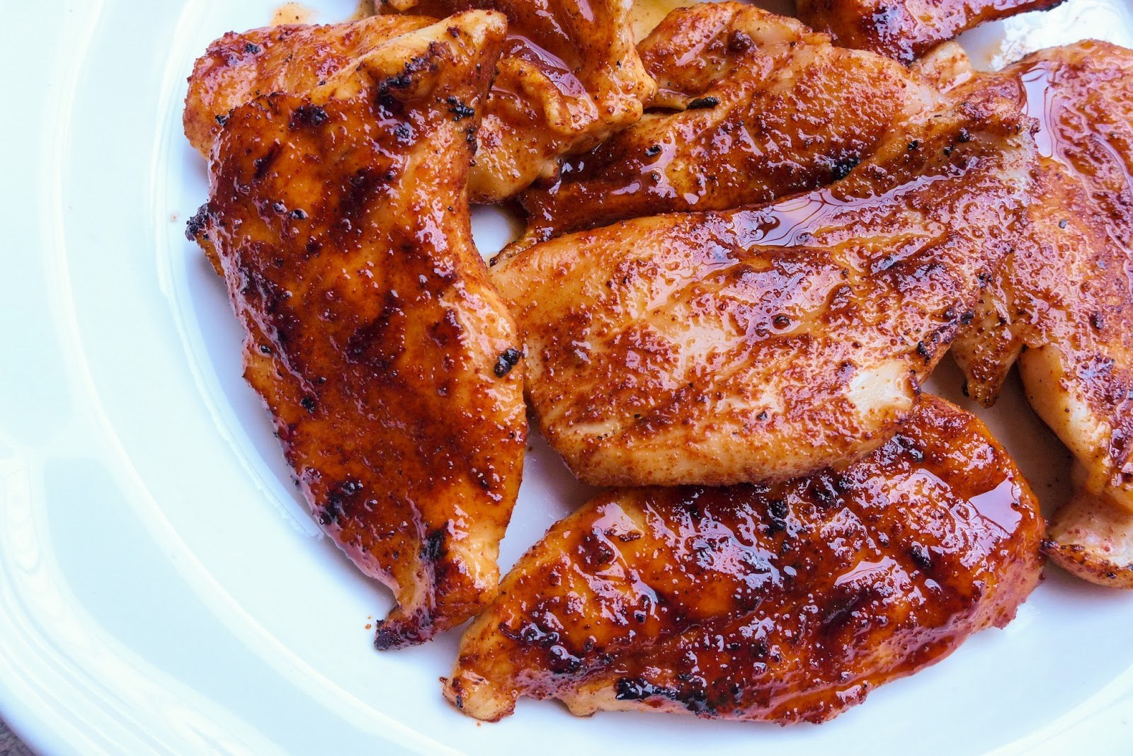 Dimples & Delights: Spicy Honey Chicken