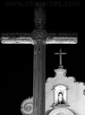 Cruzeiro e igreja de São Francisco, em São Cristóvão - Sergipe