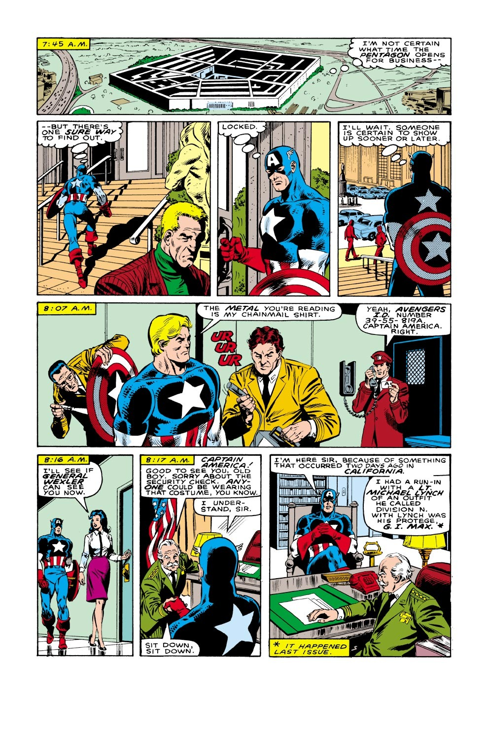 Captain America (1968) Issue #332 #261 - English 5