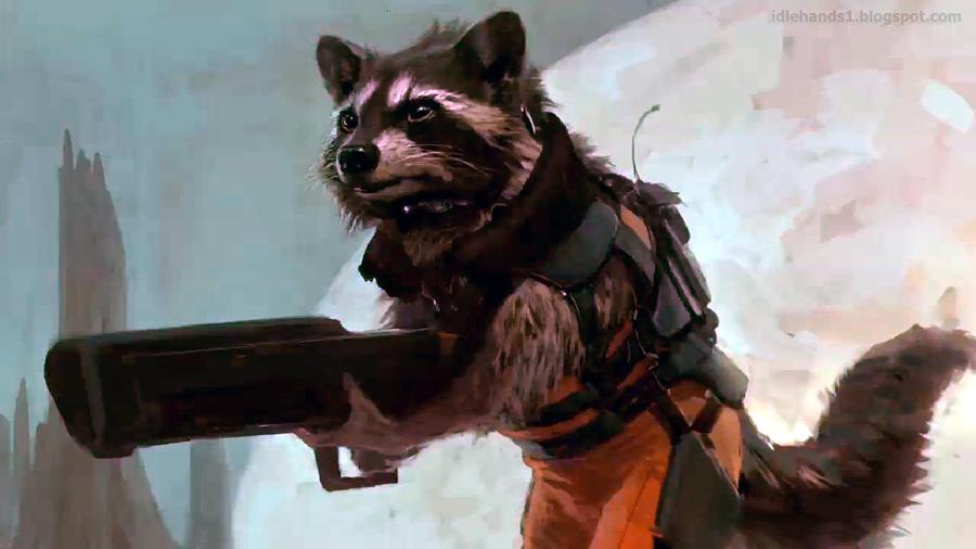 Wallpaper 4 Love The Rocket Carrying Raccoon Guardians Of Galaxy