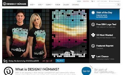10 increibles diseño web de camisetas