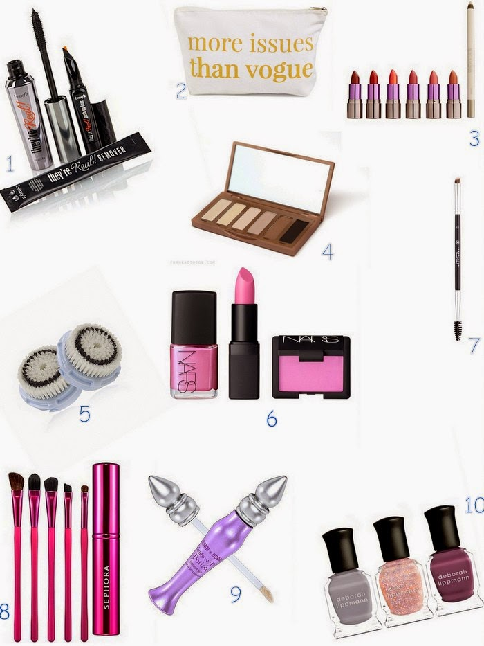 gift ideas for mom, beauty gift ideas, benefit they're real mascara, more issues than vogue, beauty junkie