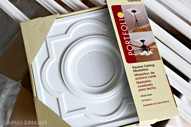 DIY CUSTOM DOOR MOULDING USING A CEILING MEDALLION - Dimples and Tangles & DIY CUSTOM DOOR MOULDING USING A CEILING MEDALLION - Dimples and ...